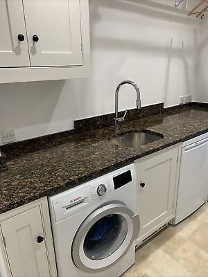 £75 • Buy 30mm Granite Work Top With Sink And Tap Hole Cut Out - Baltic Brown