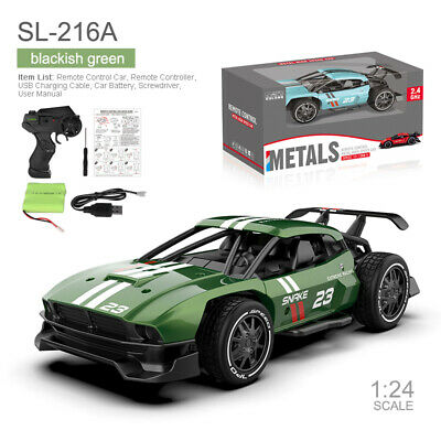 £19.99 • Buy 1/24 RC Racing Car Truck Alloy Drift Stunt 2.4G Remote Control Vehicle Toys Gift