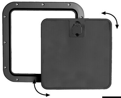 £29.25 • Buy Boat Deck Inspection Hatch With Removable Black Front Lid 375x375mm