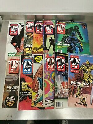 £11.99 • Buy The Best Of 2000AD Monthly Comic Collection Job Lot  Judge Dredd X11