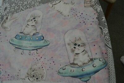 £5 • Buy  Space Cat  Single Duvet Cover With Matching Pillow Case By George.