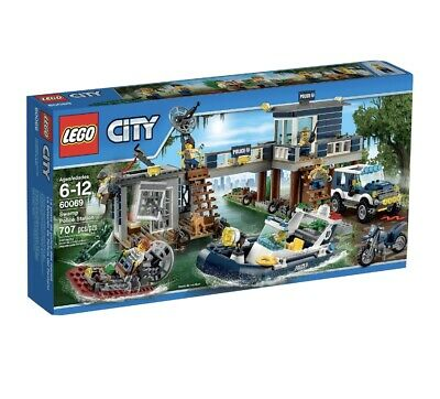 £59.99 • Buy Lego City 60069 Swamp City Police Station Complete Retired + Instructions No Box