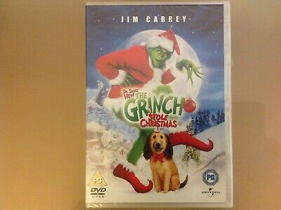 £3.49 • Buy How The Grinch Stole Christmas Dvd - Jim Carrey - Brand New And Sealed