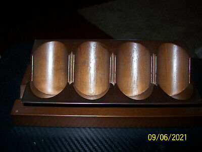 £3.40 • Buy Pipe Rack, Holds 4 Pipes, Wooden, Not Aged