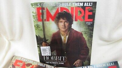 £212.40 • Buy 5 - Hobbit Covers To Rule Them All - December 2012 Set - Empire Magazines