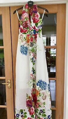 £8 • Buy Pussycat London Halter Neck Maxi Dress Size Small. Excellent Condition.