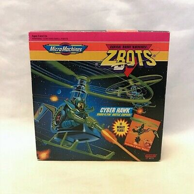 £50 • Buy ZBots Cyber Hawk Copter 1992 Galoob Micro Machines