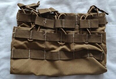 £20 • Buy Tactical Tailor Fight Light 5.56 Triple Hex 6 X Mag Panel - UKSF, Ammo, Molle,