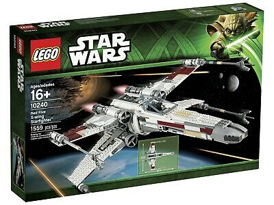 £349 • Buy  LEGO 10240 Star Wars UCS RED FIVE X-WING STARFIGHTER - Brand New And Sealed