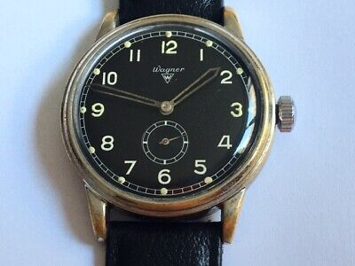 £472.68 • Buy German Air Force Wagner WWII Military Watch For Luftwaffe Pilots Urofa 58