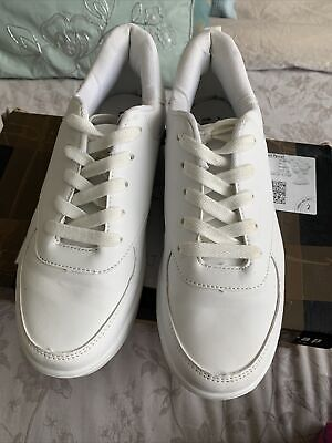 £1.04 • Buy Ladies White Trainers Size 6