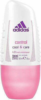 £7.78 • Buy 3x Adidas Womens Control Cool & Care Roll-On 50ml