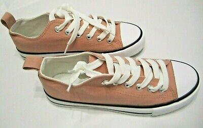£7.95 • Buy Pink Primark Canvas Shoes Pumps Ladies Trainers Vans Size: 5 Brand New With Tags