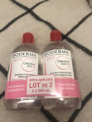 £15 • Buy Bioderma Crealine TS H2O Cleansing Micelle Solution 2 X 500ml