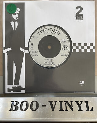 £8.99 • Buy The SELECTOR On My Radio / Too Much Pressure UK 7  Vinyl Record TT4 Two-Tone Ex