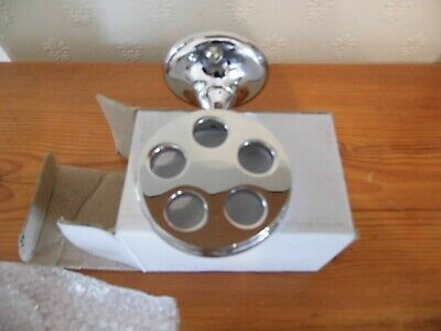 £4.90 • Buy Chrome Plated Tooth Brush Holder New In Box