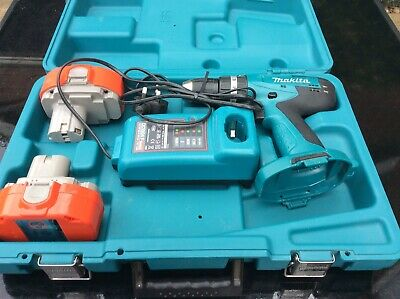 £39 • Buy Makita 8391d 18v Cordless Combi Drill, 2 Batteries, Charger And Case