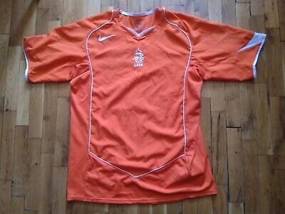 £12.99 • Buy Netherlands Home Football Shirt Tricot Jersey 2004 - 2005 Nike Size M