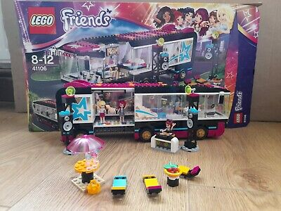 £14.99 • Buy Lego Friends 41106 Pop Star Tour Bus 100% Complete Set With Instructions Boxed