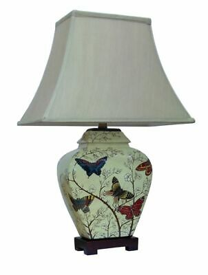 £155 • Buy Butterfly Porcelain Table Lamp And Shade.