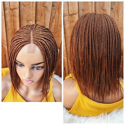 £55 • Buy Handmade Braided Feathers Wig 12 Inch (Colour 30)