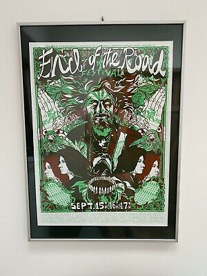 £28.90 • Buy End Of The Road Original First Festival Poster