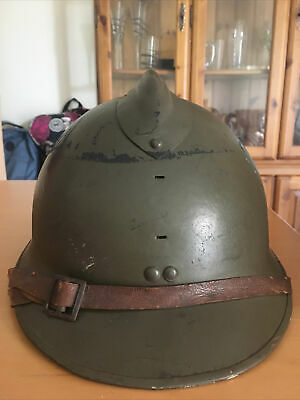 £80 • Buy French Ww2 Military Helmet Was Used In The War Collectors Item