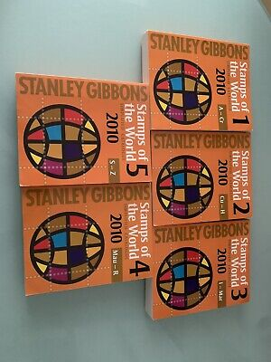 £30 • Buy Stanley Gibbons Stamps Of The World 2010 - Full Set Of 5 Books - Never Used