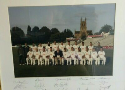 £25 • Buy Worcestershire County Cricket Club Signed Photo In Frame. NEW