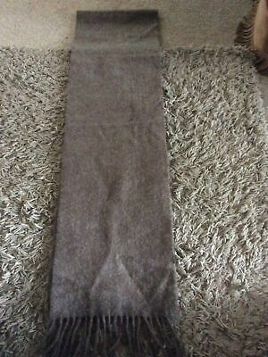 £20 • Buy Brand New Ladies Marks & Spencer Oatmeal Pure Cashmere Scarf One Size & Fringes