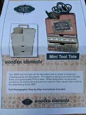 £0.99 • Buy Stamps Away Collection Mini Tool Tote