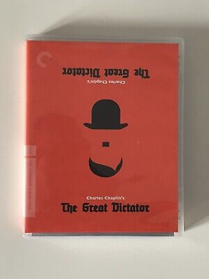 £30 • Buy The Great Dictator - Criterion Collection - US Region A Blu-ray - Chaplin