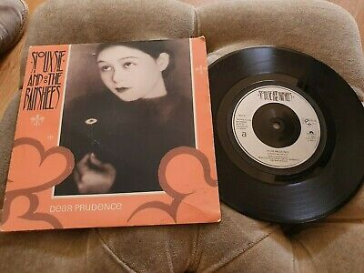 £2.99 • Buy Siouxsie And The Banshees Dear Prudence / Tattoo 7  Vinyl Record Single Vg
