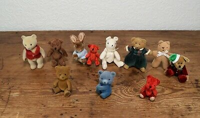 £4 • Buy A Collection Of Modern Miniature Teddy Bears - 3 - 5 Inches