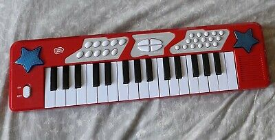 £1.99 • Buy CHAD VALLEY ELECTRONIC KEYBOARD RED Size: 48 Cm X 14 Cm