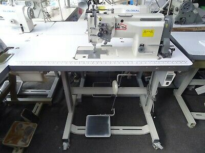 £489 • Buy Industrial Sewing Machine Twin 1/4 With Knockout Single Or Twin Needle, Serviced