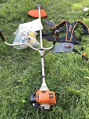 View Details STIHL FS90 Strimmer With Brush Cutter, StringTrimmer,Harness, Ear&Face Guards • 190.00£