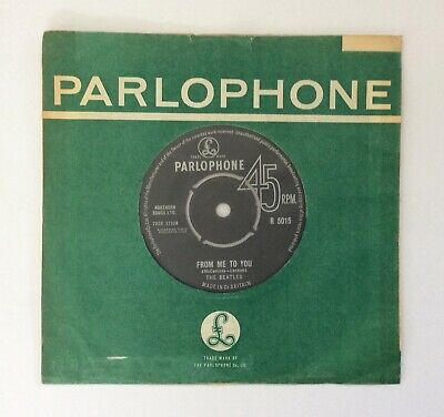"""£25 • Buy The Beatles """"From Me To You / Thank You Girl"""" Parlophone R 5015 1963"""