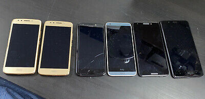 $ CDN12.15 • Buy Bundle Of 6 Untested Cell Phones, Various Models, AS-IS For Parts Only - LOT