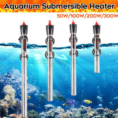 $ CDN13.67 • Buy 220V Submersible Stainless Steel Aquarium Fish Tank Heater Thermost