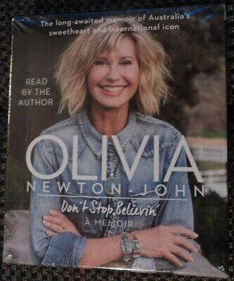 £12.99 • Buy Olivia Newton-John Don't Stop Believin' 7 CD Audio Book New Sealed Grease