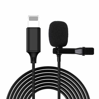 AU12.98 • Buy Clip-on Lapel Mini Lavalier Omnidirectional Mic Microphone Recording For IPhone
