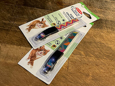 £8.90 • Buy 2 X Bob Martin Clear Flea Collar For Cats & Kittens Over 12 Weeks - Multi Colour