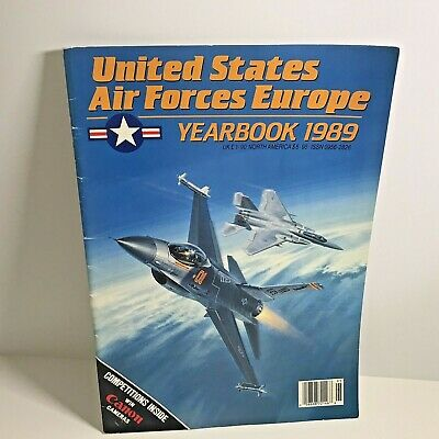 $9.99 • Buy United States Air Forces Europe Yearbook 1989 U.S. Military Overseas Planes