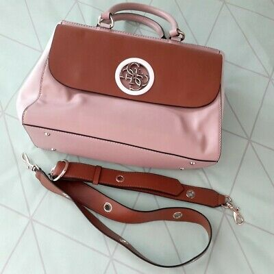 AU70 • Buy Guess Handbag Near New Guess Pink With Shoulder Straps. Unwanted Gift.