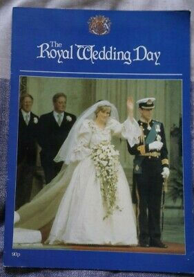 £6.49 • Buy The Royal Wedding Day: A Pictorial Souvenir, 1981 [Prince Charles, Diana]