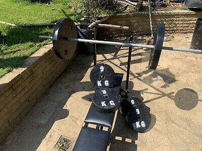 £80 • Buy Weight Lifting Bench With Weights