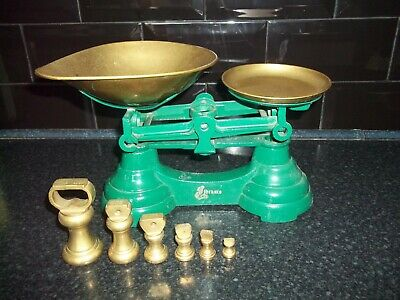 £24.99 • Buy Vintage Kitchen Weighing Scales With Weights