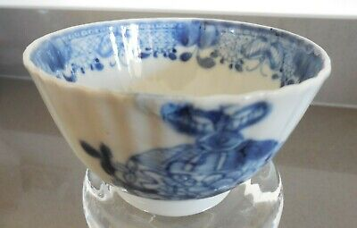 £28 • Buy Chinese Porcelain Tea Bowl With Blue Pattern, Emperor Qianlong Reign 1736-1795.