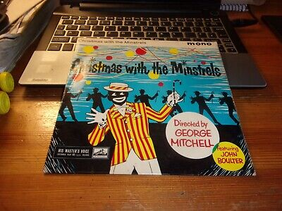 £1.50 • Buy George Mitchell  Christmas With The Minstrels  7 Inch Ep Very Good Player,